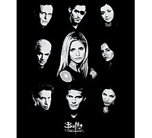 Buffy Cast Photographic Print