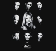 Buffy Cast by Paul Elder