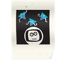 spaced man Poster