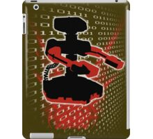 Super Smash Bros Famicom ROB Silhouette iPad Case/Skin