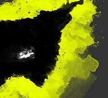 Paint Splatter Batman by CtrlArtDlt