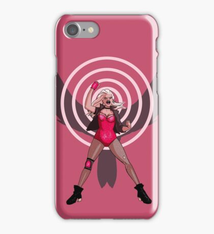 Canary Cry! Black Canary iPhone Case/Skin