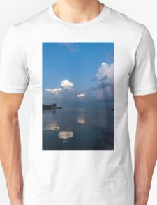 Cool Pearly Clouds Over the Lake T-Shirt