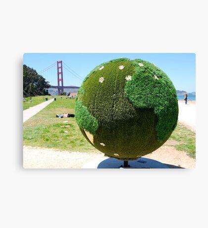 World - San Francisco Bay Canvas Print