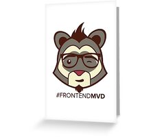 Front End MVD Greeting Card