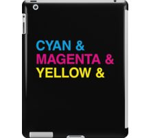 CMYK iPad Case/Skin