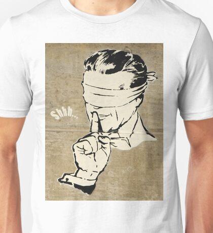 Blindfolded no talk Unisex T-Shirt