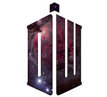 Doctor Who: Logo Model 2 Photographic Print