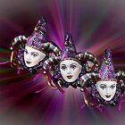 3 Dolls by Kath Gillies