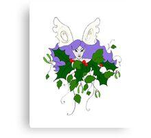 Holly, Ivy & Mistletoe Canvas Print