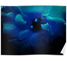 Blue Flower. Poster