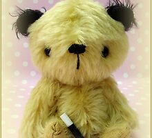 Sooty - Handmade bears from Teddy Bear Orphans by Penny Bonser