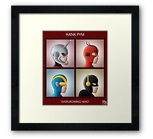 Evergrowing Hero Framed Print