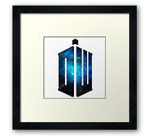 Doctor Who: Logo Model 3 Framed Print