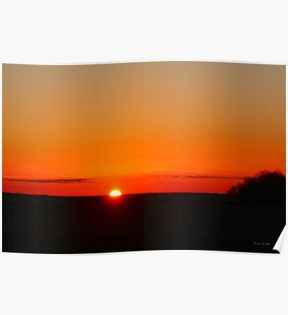 ~ Sunrise On The Prairie ~ Poster
