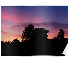 Sunset in Zirconia  Poster
