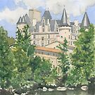 The Château, La Rochefoucauld, France by ian osborne