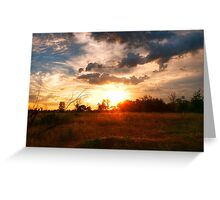 Russian Landscape Greeting Card