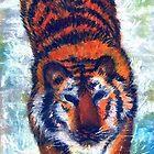 Tiger in Pastel by ienemien