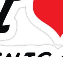 I love shinigami Sticker