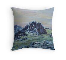 Castell y Gwynt Throw Pillow