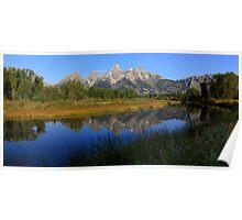 Teton Panorama Poster