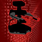 Super Smash Bros Red ROB Silhouette by jewlecho