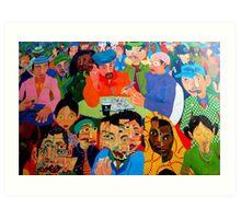 Barney McMahon Mural Art Print