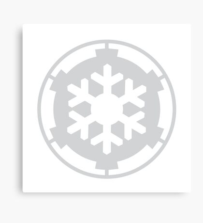 Snow Trooper Corps Canvas Print