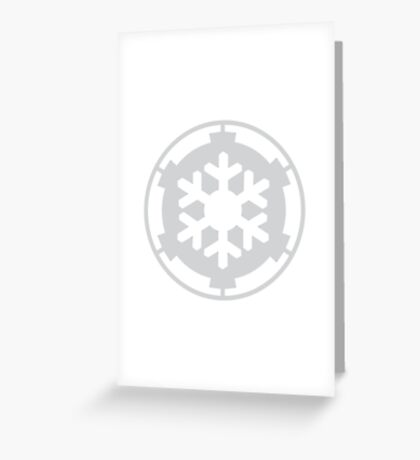 Snow Trooper Corps Greeting Card