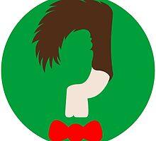 Who? Sticker by BootlegBird