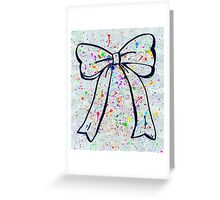 Bow Greeting Card
