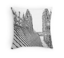 Top Side View Throw Pillow