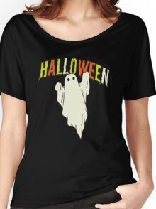 Halloween ghost Women's Relaxed Fit T-Shirt