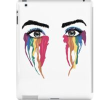 crying color iPad Case/Skin