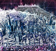chicago panorama by BekimART