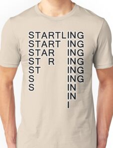 Startling the magic word Unisex T-Shirt