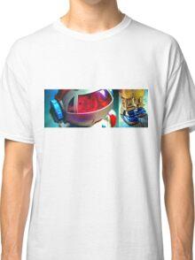 Retro Robot 2 Classic T-Shirt