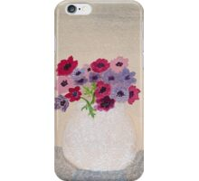 Anenome Flowers iPhone Case/Skin