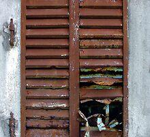 Shuttered Window by Stephen Maxwell
