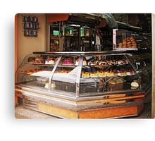 Bakery and Biscuits Canvas Print