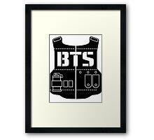 BTS Logo Framed Print