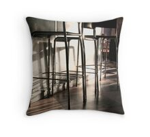 Coffee Bar Throw Pillow