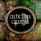 Celtic Luna Calendar Cover  by Angie Latham