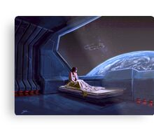 Alone in Space Metal Print