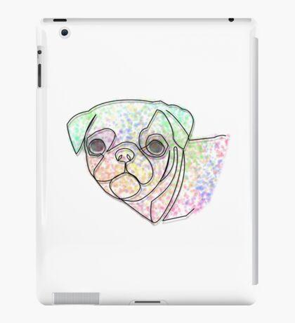 Wire Pug iPad Case/Skin