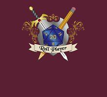 Roll Player Blue d20 Crest T-Shirt