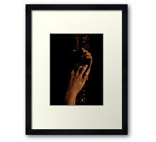 So soft, my lover's touch Framed Print