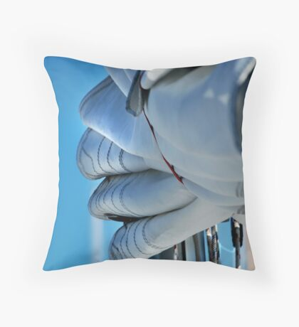 Boat Works #1 Throw Pillow