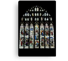 Stain Glass II Canvas Print